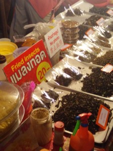Fried Insects for all!